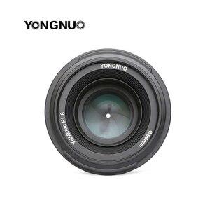 Объектив YONGNUO YN 50 мм YN50mm F1.8, Большая диафрагма, AF/MF, автофокус, фиксированный объектив для камеры Canon EOS или Nikon DSLR