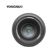 YONGNUO YN 50mm YN50mm F1.8 ขนาดใหญ่เลนส์ AF/MF Focus สำหรับเลนส์ Canon EOS หรือกล้อง Nikon DSLR