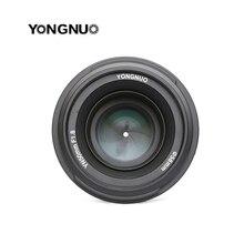 YONGNUO YN 50mm YN50mm F1.8 עדשה גדול צמצם AF/MF אוטומטי פוקוס קבוע עדשה עבור Canon EOS או ניקון DSLR מצלמה