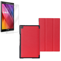 Ultra Slim Magnetic Luxury Folio Stand Leather Case Sleep Smart Cover 1x Screen Protector Film For