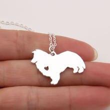 1 шт шелти кулон пастушья собака подарок для питомца ожерелья