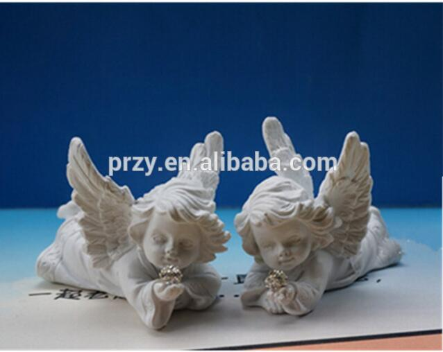 (En av dem) 1 st chokladstearinformad fondant kaka dekoration mögel änglar babyformad baby silikon tvål mögel