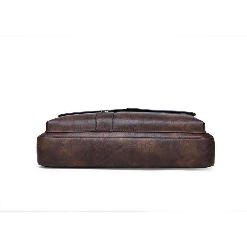 HTB1ejIHeRKw3KVjSZFOq6yrDVXaI New Men Briefcase Bags Business Leather Bag Shoulder Messenger Bags Work Handbag 14 Inch Laptop Bag Bolso Hombre Bolsa Masculina