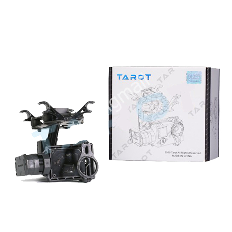 Tarot T2-2D 2 Axis Brushless Gimbal for Gopro Hero 4/3+/3 TL2D01 DIY Drone FPV Gimbal 50% OFF ormino tarot kit t2 2d gimbal 2 axis brushless for gopro hero 4 3 3 fpv gimbal drone quadcopter with camera gimbal 2 axis