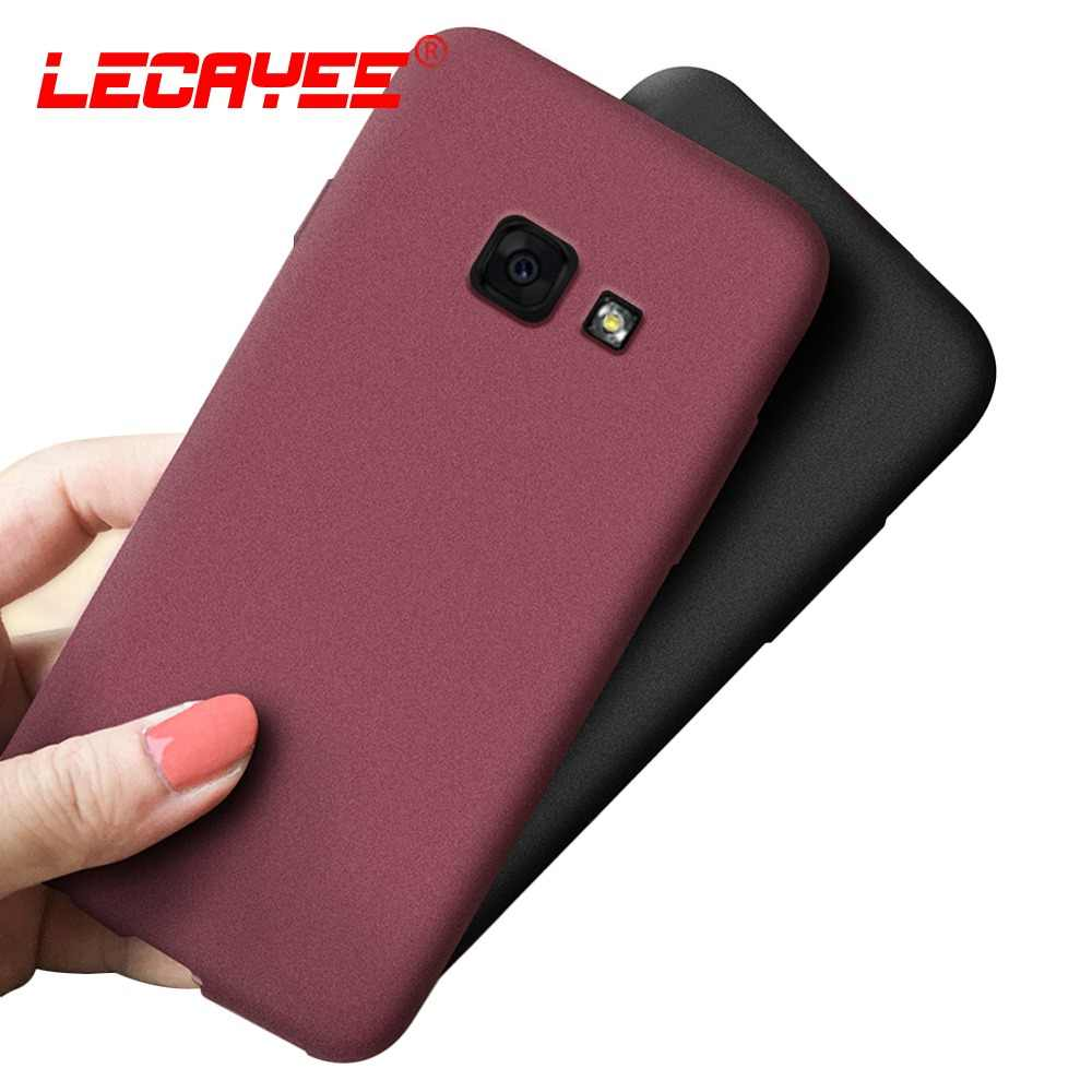 TPU Soft Matte Fitted Case for Samsung Galaxy J7 Prime Case A3 A5 A6 A7 A J2 J3 J4 J5 J6 Plus J8 2018 2017 2016 Phone Case Cover