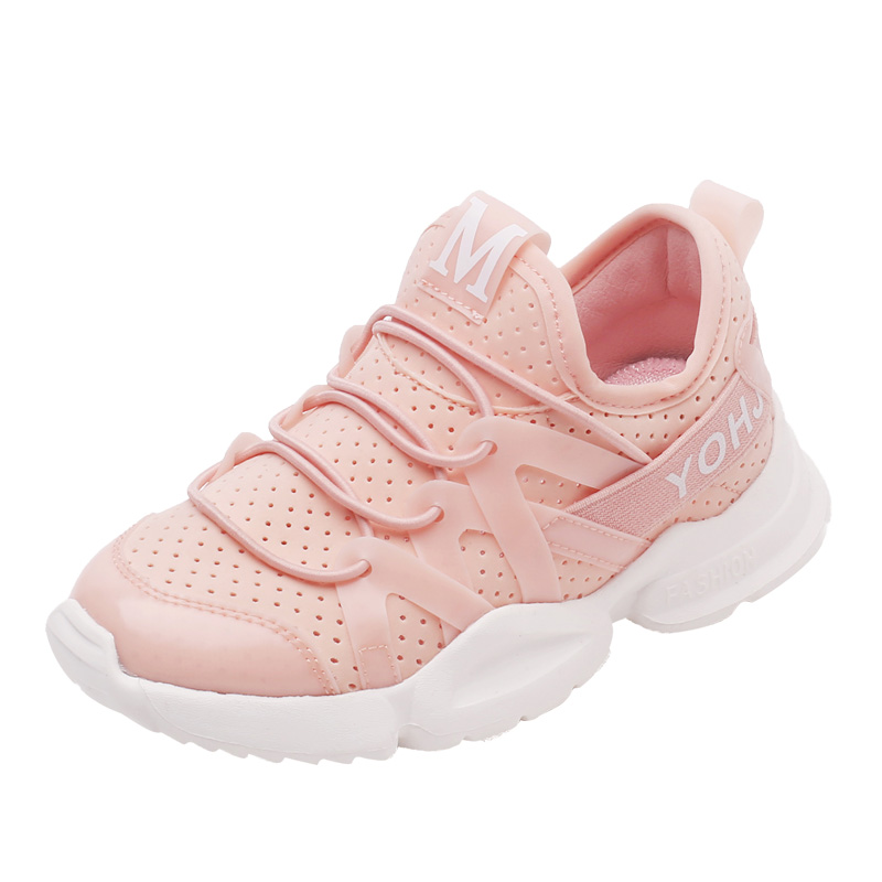 все цены на Children Sports Shoes boys and girls air cushion sneakers comfortable kids breathable toddlers child running shoes size 26 to 37