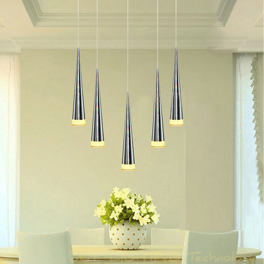 Modern Led Conical Pendant Light Aluminumu0026metal Home/Industrial Lighting  Hang Lamp Dining/living Room Bar Cafe Droplight Fixture In Pendant Lights  From ...