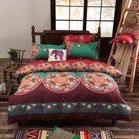 Bohemia Duvet Cover Set mandala printing Twin Full Queen King boho bedding sets bed sheet bedlinen