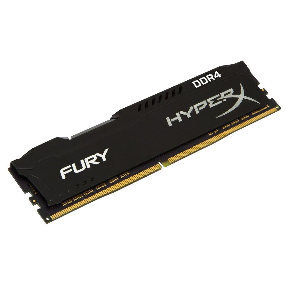 Image 2 - Kingston HyperX RAM DDR4 4GB 8G 2400MHz 16G=2PCSX8G CL15 1.2V 288pin Desktop Memory ram for gamingRAMs   -