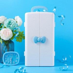Image 3 - Kosmetik lagerung box, kunststoff schreibtisch schrank, dressing tisch, hautpflege produkt finishing box, prinzessin lippenstift rack.