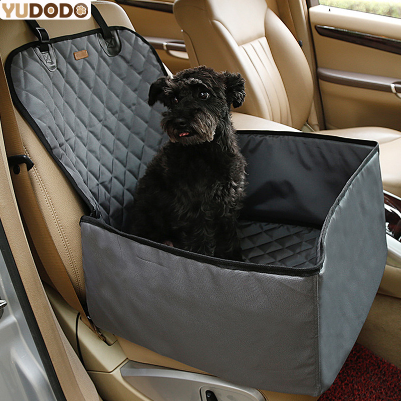 2in1 Foldable Dog Car Seat Cover 900d Nylon Waterproof Thick Soft Pet Outdoor Travel Carriers Bags For Dog Hammock 45*45*58cm