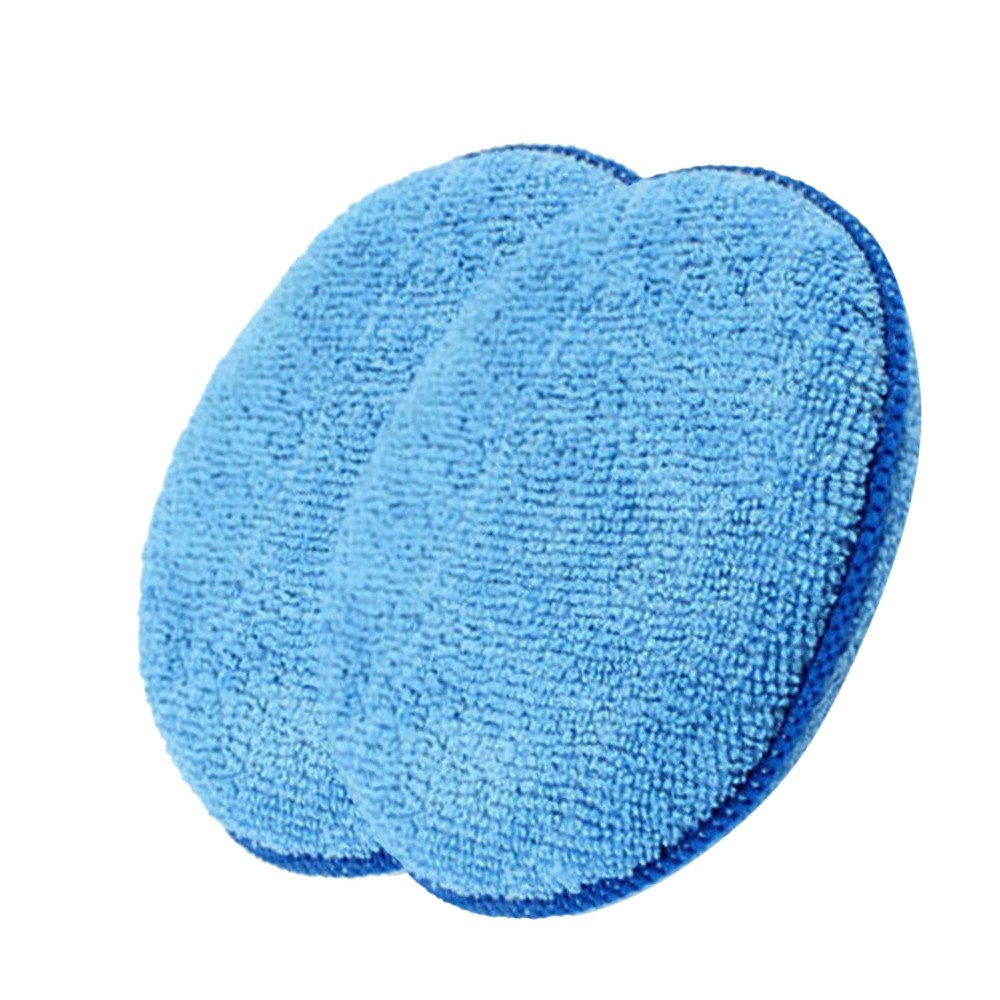 Soft  Car Wax Applicator Pad Polishing Sponge for apply and remove wax  2pcs   Home Cleaning #YL1-in Waxing Sponge from Automobiles & Motorcycles