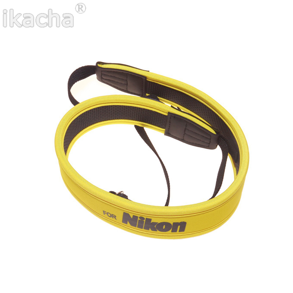 Yellow Camera Shoulder Neck Strap Fit for Nikon CoolPix P100