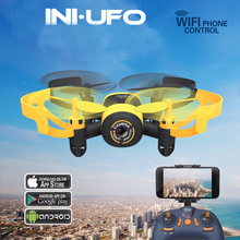 Mini Drone WIFI 512W RC Helicopter 2.4G 3.7V 6Axis 3D Roll WIFI Real-time Transmission Video Recording Pocket Drone Helicopter