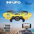 Mini Drone WI-FI 512 W RC Helicóptero 2.4G 3.7 V 6 Eixos do Rolo 3D WIFI Real-tempo de Transmissão Gravação de vídeo de Bolso Zangão