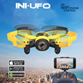 Mini Drone WIFI 512W RC Helicopter 2.4G 3.7V 6Axis 3D Roll WIFI Real-time Transmission Video Recording Pocket Drone