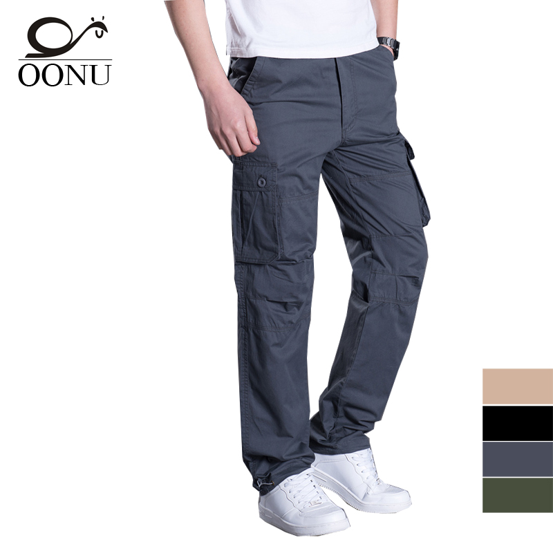 YOLAO  NEW Summer Thin Mens Cargo Pants Casual Breathable Baggy Overalls Trousers For Men Military Camouflage Tactical HBBO6