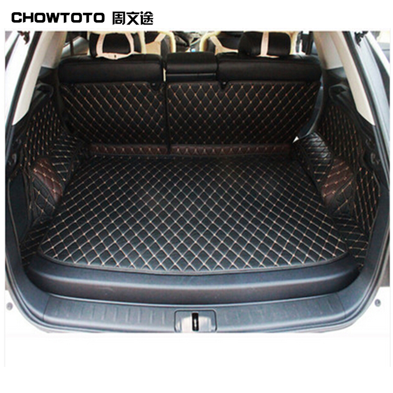 CHOWTOTO AA Custom Special Trunk Mats For Lexus RX270 350 450h Waterproof Leather Carpets For Lexus