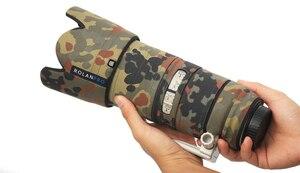 Image 3 - ROLANPRO เลนส์ Camouflage Coat Rain Cover สำหรับ Canon EF 70 200mm F2.8 L III USM ปืนป้องกันกรณี DSLR ป้องกัน