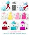Muñecas renacer Bebé Paño para la Muñeca de 30 cm y 50 cm Dressup Puro Hecho A Mano de punto suéteres ropa muñeca de dibujos animados accesorios