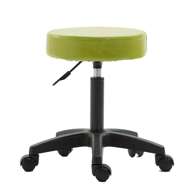 Multipurpose Household Simple Stool Lifted Staff Seat Rotated Barber Chair Manicure And Cosmetology Stool Stable PU Leisure Seat