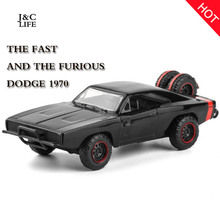 New 1:32 Fast & Furious Dodge 1970 Car Model Alloy Diecasts & Toy Vehicles Toy Cars For Kids Toys For Children Toys