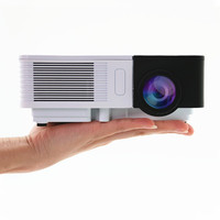 CAIWEI Portable Mini LED Projector Home Cinema Theater Movie TV Cartoon Video Game LCD Beamer HDMI VGA Best Gift for Kids