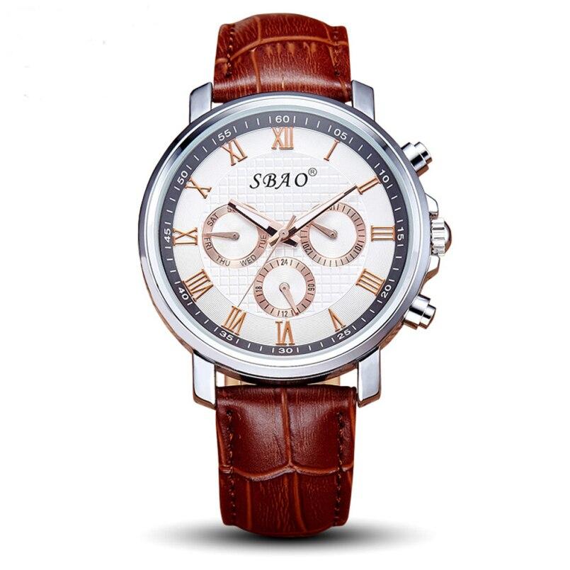 Excellent Quality 2016 Mens Watches Brand Luxury Famous Quartz Watch Men Clock Male Wrist Watch Quartz-watch Relogio Masculino