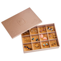 12 Grids Watch Box Jewelry Box Makeup Storage Box Jewelry Travel Case Gift Ring Earphone Necklace