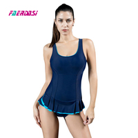 New Arrival Sexy Plus Size Polka Dot Contrast Color One Piece Bathing Suits Women Girl Lacing