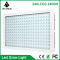2016 Newest designed Full Spectrum Led Grow Light Double Chip 2400W for Hydroponic indoor Medical plant commercial cultivation