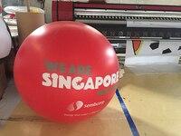 로고 인쇄 풍선 장식  메리 장식으로 광고에 대 한 행복 한 풍선 풍선 pvc 풍선