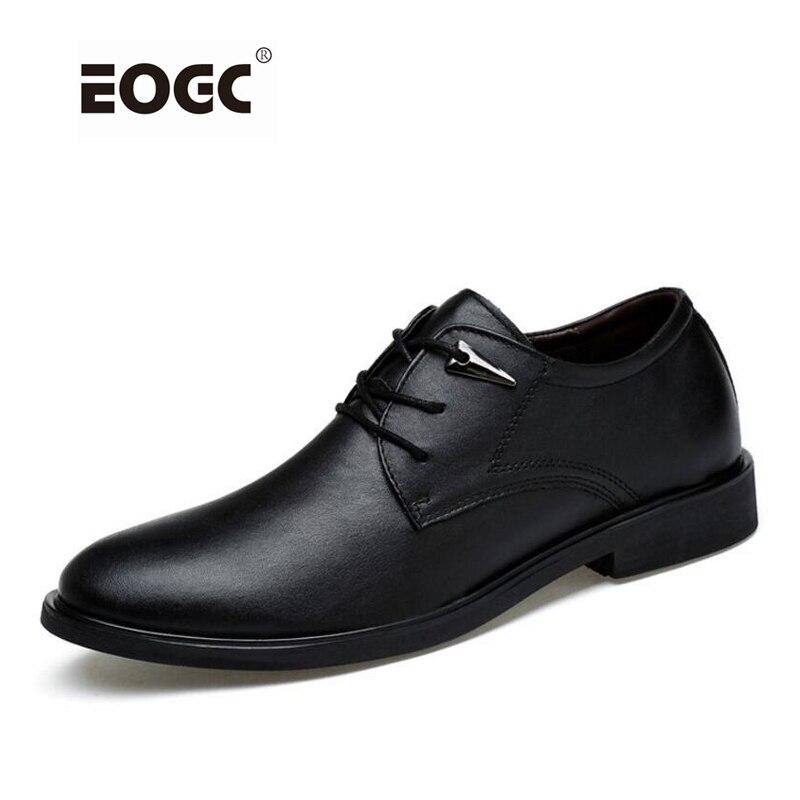Fashion grain leather men flats shoes handmade plus size oxford business men shoes wedding dress shoes