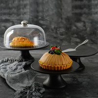Cake Tray Cake Cover Transparent Cover Creative European Bread Dessert Table Set Display Stand