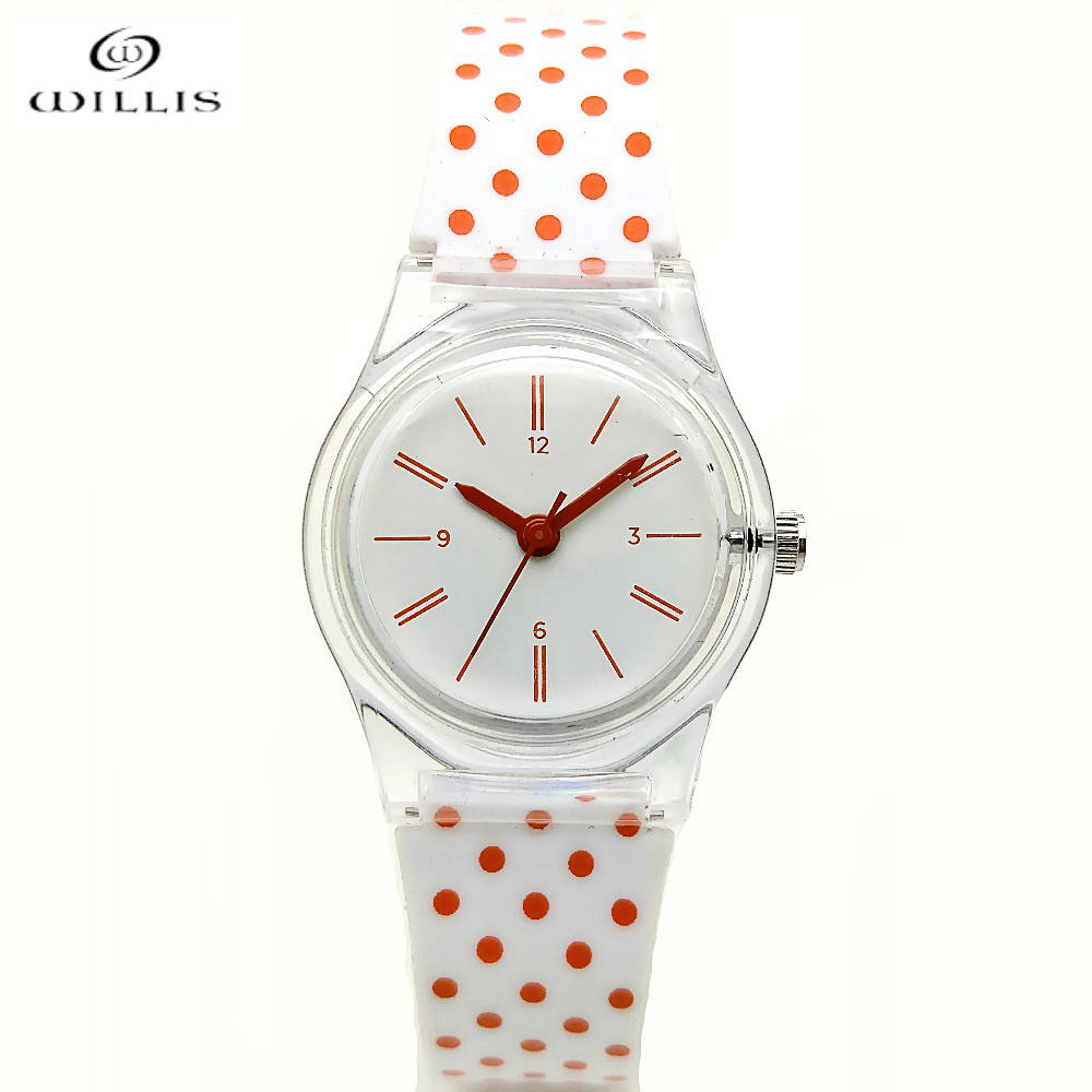 WILLIS Watch Womens brand Fashion Casual Soft Silicone Quartz Watch Wristwatches for Women waterproof watches Ladies Relogio original miler brand soft silicone strap jelly quartz watch wristwatches for women man lovers family black for led kids student
