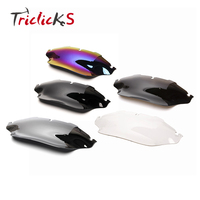 Triclicks 8 Wave Windshield Windscreen Motorcycle Wind Air Deflector Spoiler For Harley Electra Street Glide Classic