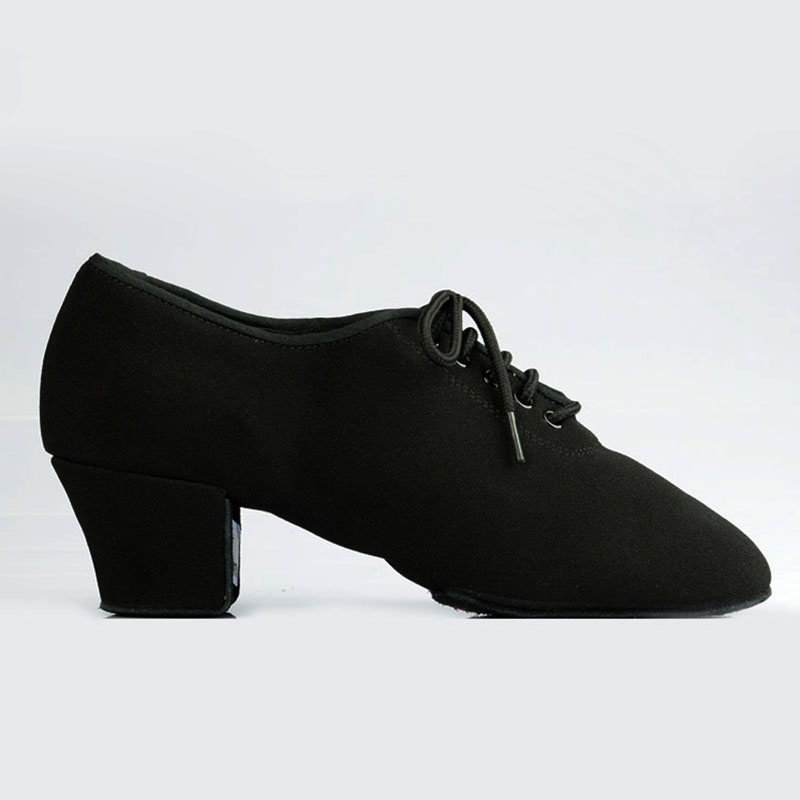 Women Latin Dance Shoes Ladies Teaching Shoes T1b Split sole Canvas Professional Ballroom Dance Shoe Square Heel Dancesport
