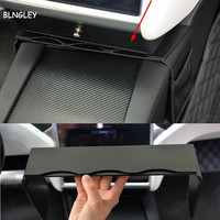 Free shipping 1pc Central control Storage bags decoration cover for Tesla Motors Model S X