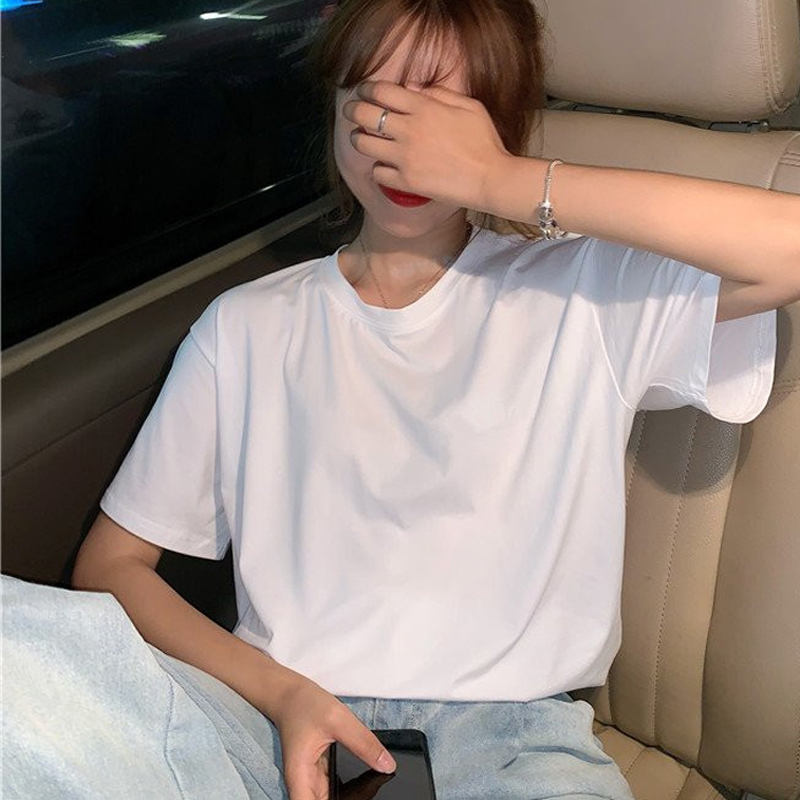 New Pulp Fiction Movie T Shirt Women Harajuku Ullzang 90s Korean T-shirt Aesthetic Funny Print Tshirt Graphic Top Tees Female 28