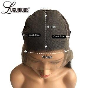 Image 5 - 6 นิ้วลึก 13X6 ลูกไม้ด้านหน้าด้านหน้ามนุษย์ Wigs สำหรับผู้หญิงสีดำ 8 24 นิ้ว 150% ความหนาแน่นบราซิล Remy Wigs วิกผม