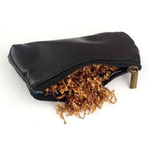 Image 5 - 4 w 1 PU skóra pojedyncza rura torba typu worek Case + klasyczna drewniana fajka + z narzędziami zapalniczka cygarowa + woreczek na tytoń