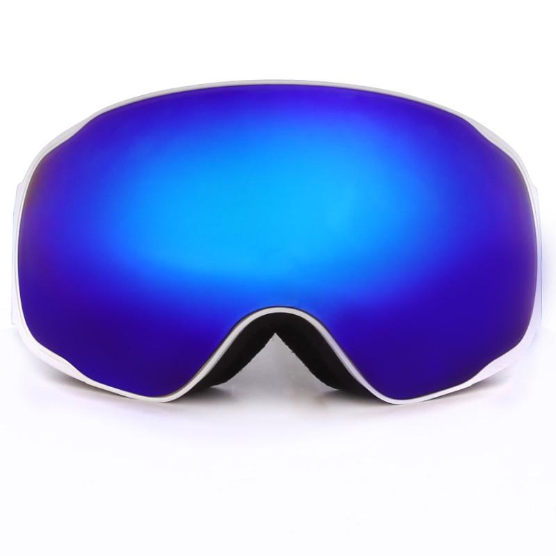 Prix pour Benice Nouveau Design Ski Lunettes de Neige Lunettes/UV-Protection Multi-Couleur double anti-buée Snowboard ski Lunettes avec sac gratuit