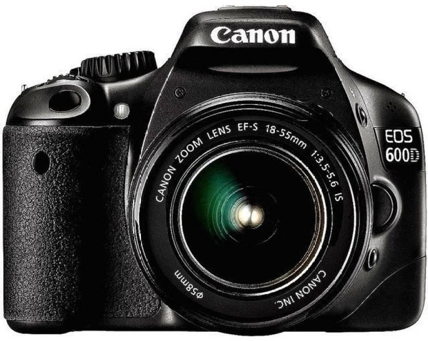Utilizzato, Canon EOS 600D Fotocamera REFLEX Digitale con 18-55IIS/18-55IS STM Lens
