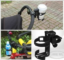 Delicate Baby stroller cup holder universal children's bicycle bottle rack Black Hot Selling