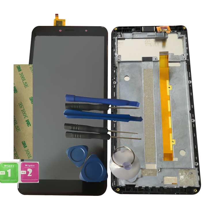 RYKKZ For FLY Life Mega LCD Display With Touch Screen Digitizer Assembly Replacement +3M Sticker+ ToolsRYKKZ For FLY Life Mega LCD Display With Touch Screen Digitizer Assembly Replacement +3M Sticker+ Tools