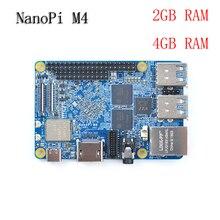 NanoPi M4 2 GB/4 GB DDR3 Rockchip RK3399 SoC 2,4G & 5G dual-band WiFi, unterstützung Android 8.1 Ubuntu, AI und tiefe lernen