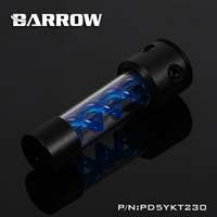 Barrow PD5YKT230 D5 VIRUS T cylinder water reservoir water tank computer water cooling UV Lighting included