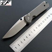 New Sebenza Folding Blade Knife D2 Steel Titanium Alloy Handle Outdoor Camping Knives Tactical Survival Tools