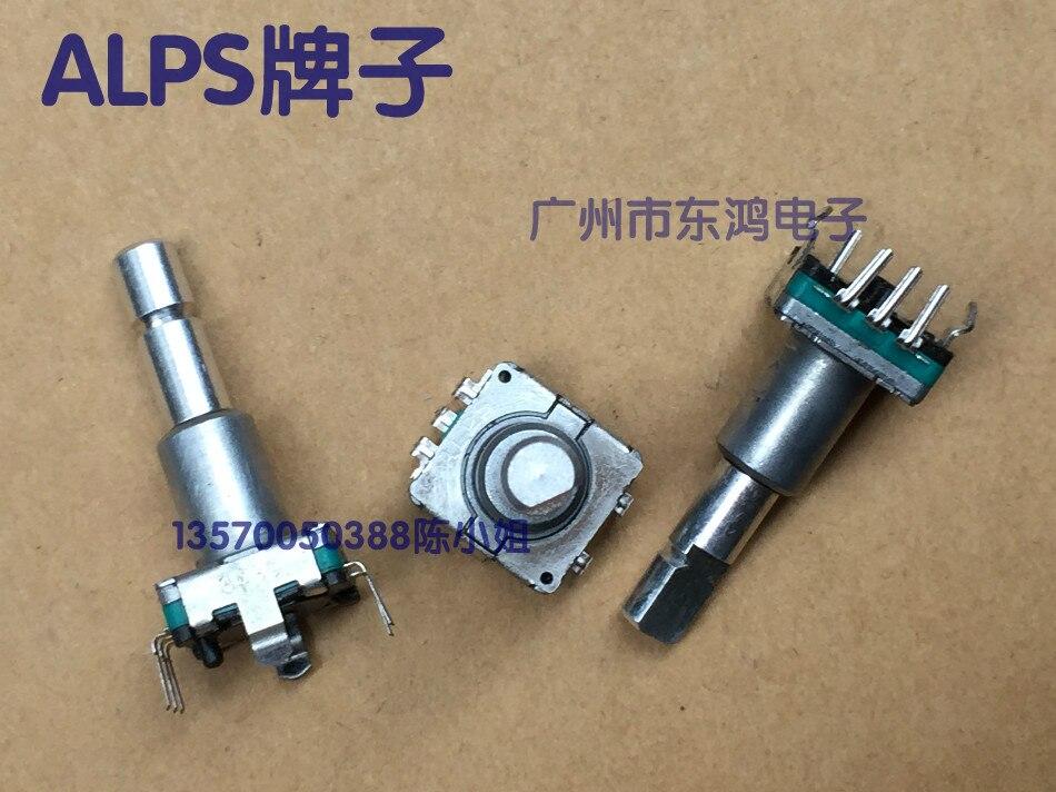 5 шт./лот EC11 кодер без выключателем 30 позиционирования количество 15-импульса тонкий вал длина 23 мм