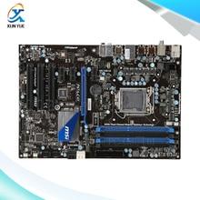 MSI P67A-C43 Original Used Desktop Материнских Плат P67 Сокет LGA 1155 DDR3 i3 i5 i7 32 Г SATA3 USB3.0 ATX